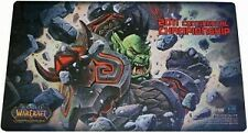 Wow Warcraft TCG Continental Championship 2011 Orc Playmat Hearthstone Mousepad