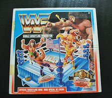 WWF HASBRO Ring Action Figure RARE Blue Ring 1991