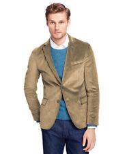 Brooks Brothers Khaki Beige Regent Fit Corduroy Sports Coat Jacket Sz 44s 0781-1