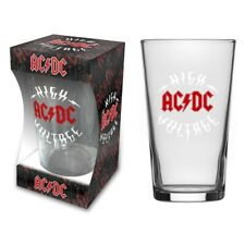 AC/DC 'High Voltage' Pint Glass - NEW OFFICIAL