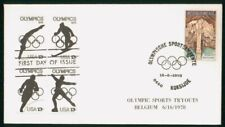 Mayfairstamps Belgium 1978 Cave Olympic Sports Tryouts Cover wwo_04213