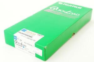 Fujifilm RVP Velvia 50, 4x5 QuickLoad, 20 sheets, EXP 2001-11