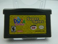DORA THE EXPLORER SUPER SPIES NINTENDO DS LITE-GAMEBOY- SP-ADVANCE  B2GA-02