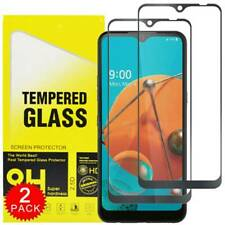 Full Coverage  Premium Tempered Glass Screen Protector Protective Cover 5PCS