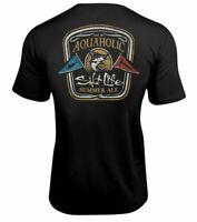 Mens Salt Life Aquaholic SLX UVapor Performance Pocket T-Shirt - Large - NWT