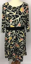 Triste Multi-Color Stained Glass Style Printed Dress Size 1X Fits XL ?
