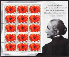 Scott # 3069-Georgia O'Keeffe - Artist - Sheet of (20) 32 Cent Stamps⭐⭐⭐⭐⭐⭐