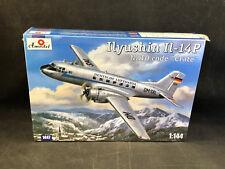 "Amodel Ilyushin Il-14P NATO Code ""Crate"" 1:144 Scale Plastic Model Kit 1447 NIB"