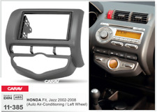 CARAV 11-385  Car Radio Fascia FacIa Panel Frame For HONDA Fit Jazz Auto A/C LHD