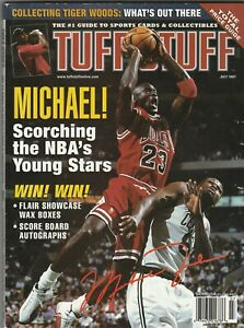 Michael Jordan Tuff Stuff ~ July 1997 ~ Great Condition ~ Chicago Bulls