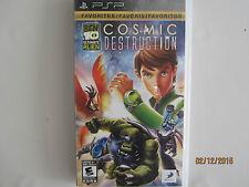 Ben 10: Ultimate Alien -- Cosmic Destruction  (Sony PSP, 2010)