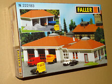 FALLER ( 222183 ) BATIMENTS DE CHANTIER NEUF EN BOITE SOUS BLISTER  N 1/160