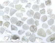 White Slice Faceted Polki Diamond Loose Natural Diamonds 2 Ct Scoop Rough Raw NR