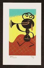 TIM BISKUP 'IPMG #4', 2005 SIGNED Mini Silkscreen Print Limited Edition #64/206