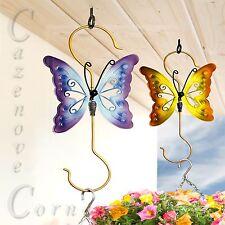 Hanging Basket Hooks, Plant Hangers, BUTTERFLY Brackets, Garden Hooks, Hanger