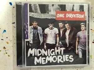 ONE DIRECTION CD MIDNIGHT MEMORIES  NUEVO PRECINTADO NEW SEALED