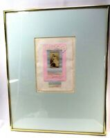 MARGIE LUTTRELL Actress MISS LAURA BIGGAR Dream Mixed Media Collage Framed 16x20