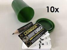 10 x Geocaching Versteck, Geocache: Filmdose + Logbuch + Bleistift