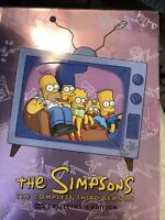 The Simpsons - The Complete Third Season (DVD, 2003, 4-Disc Set) No Booklet