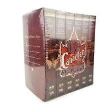 TSN 100 Years of Canadian Sports 6 VHS Video Tapes Box Set New Sealed