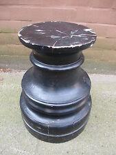 Postament Massivholz Podest H: 41 Sockel Piedestal Holzelement Baustoff