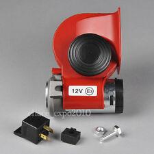 Motorcycle/Car 12V Compact Dual Tone Electric Pump Vehicle Siren Air Loud Horn