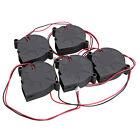 5015S 5V 0.1-0.3A Black Brushless DC Cooling Fan 50x15mm Radiator 1pcs/5pcs