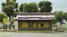28MM COLONIAL CHINESE PEASANT HUT (Yellow)  - PAINTED TO COLLECTORS STANDARD