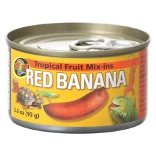ZOOMED RED BANANA  Tropical Fruit Mix Can 95g