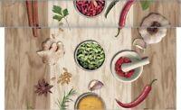 Tischläufer Spicy aus Linclass® Airlaid 40 cm x 4,80 m - Tischband Küchengewürze