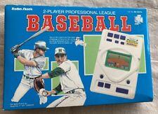 Vintage Radio Shack Handheld Game Pro League Baseball  VINTAGE 60-2241B harper