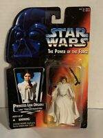 1995 STAR WARS POWER OF THE FORCE PRINCESS LEIA ORGANA ACTION FIGURE