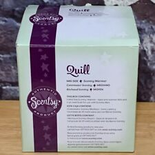 Scentsy Quill Mid Size Wax Warmer In Box Preowned