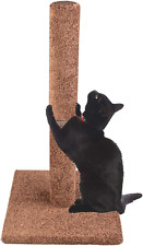 """New listing Dimaka 29"""" Tall Cat Scratching Post, Claw Scratching Full Carpet Post for Kitten"""