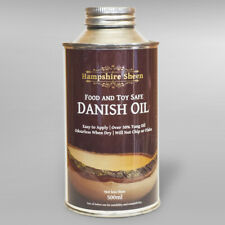 Food and Toy Safe Danish Oil 500ml HAMPSHIRE SHEEN