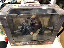 New Steve McQueen with German WWll Motorcycle 21st Century Toys 1:6 Scale NIB