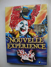DVD CIRQUE DU SOLEIL presenta   NOUVELLE EXPERIENCE