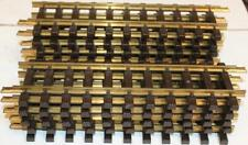 """20 Piece Lot LGB  #1000 G Scale 12"""" Straight Track Sections"""