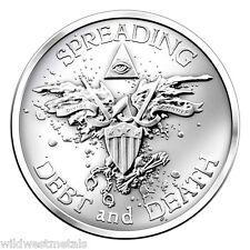 2013 WARBIRD - Original Silver Bullet Silver Shield - 1 oz - SBSS ART GEM BU