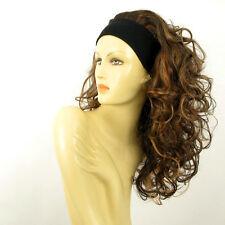 headband wig long curly wick chocolate light copper ODESSA 627C