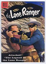 Lone Ranger #113 Dell Pub 1957