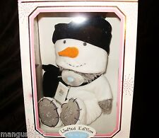 ME TO YOU LIMITED EDITION SNOWMAN DRESS UP COSTUME BEAR NIB & CERTIFICATE RARE