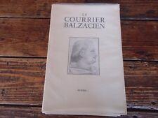 LITTERATURE BALZAC - LE COURRIER BALZACIEN N°7 DE 1950 - REVUE MENSUELLE