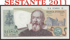 2000 LIRE GALILEO SERIE SOSTITUTIVA XA  ..  .D, 1993, FDS / UNC REPLACEMENT
