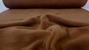 CAPPUCINO FLEECESTOFF ANTIPILLING WEICH UND WOHLIG WARM STOFF STOFFE |C484@
