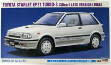 Hasegawa HC-32 Toyota Starlet EP71 Turbo S (3-Door) Late Production Type 1/24