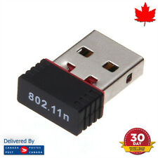 WiFi Dongle USB Adapter Wireless Mini 150Mbps 802.11n Windows Mac Linux
