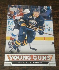 Nikita Zadorov 2013-14 Upper Deck Young Guns Rookie Card #471 Calgary Flames