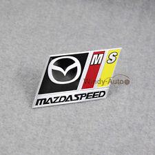 Metal Side Rear Decal Emblem Badge Sticker For Mazda Mazdaspeed MS speed Sport