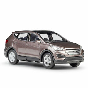 1/36 Hyundai Santafe SUV Model Car Diecast Toy Vehicle Collection Gift Brown